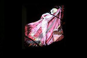 An original stained glass artwork by Harry Clarke, which outraged the Irish government in 1930