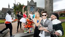 Culture Night was launched in St Patrick's Park with the help of Blathnaid Treacy and Stephen Byrne, Frank O'Gorman from the Society for Creative Anachronism and some of the event's participants