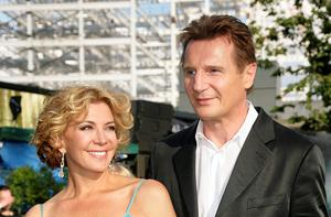 Natasha Richardson and Liam Neeson.