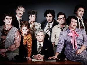 The cast of The Fall of the Second Republic