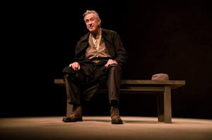 Last hurrah: Barry McGovern stars in Beckett's First Love during the festival