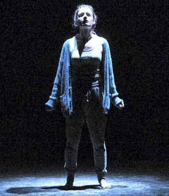Battling fierce odds: Aoife Duffin in Eimear MacBride's superb 'A Girl Is a Half-Formed Thing'