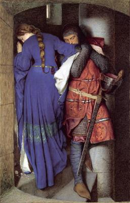 Hellelil and Hildebrand, The Meeting on the Turret Stairs