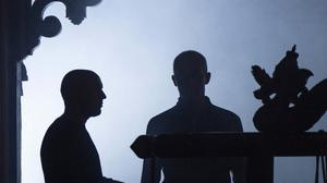Conor Lovett (left) and Stephen Dillane in a scene from How It Is by Samuel Beckett - A Digital Preview
