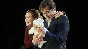 Streaming for free: Amy Molloy as Julie and Stephen Rea as Eric in Cyprus Avenue
