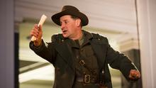 Compelling: Ronan Leahy as Patrick Pearse in Fishamble's Inside the GPO. Photo by Pat Redmond