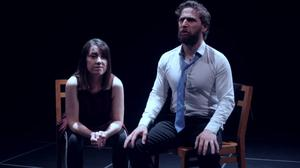 Moving and philosophical: Aaron Monaghan and Clare Monnelly in Ryan Murphy's Ragnarok