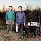 Wilderness years: Cillian Murphy and Mikel Murfi who star in Enda Walsh's Ballyturk