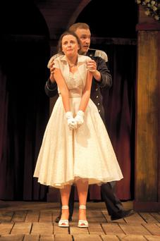 Globe Theatre's production of 'Much Ado About Nothing'