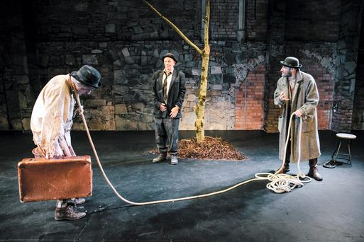 Waiting For Godot at the Smock Alley Theatre
