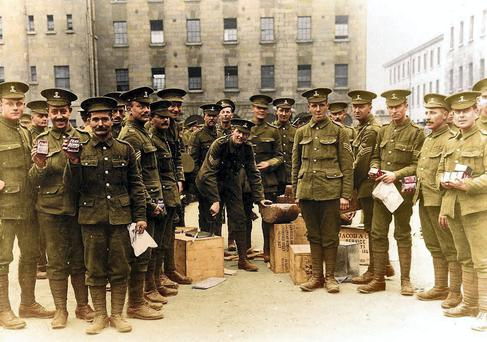 The 'Pals' battalion is the subject of an ANU production based in Collins Barracks