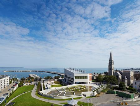Sea view: Dun Laoghaire's controversial new library