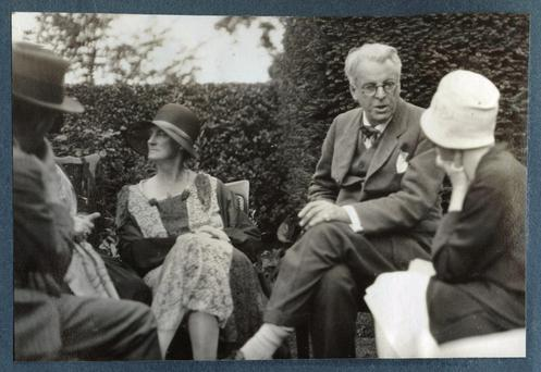 George and WB Yeats.