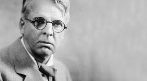 WB Yeats, photographed in the 1920s.