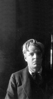 A portrait of WB Yeats.