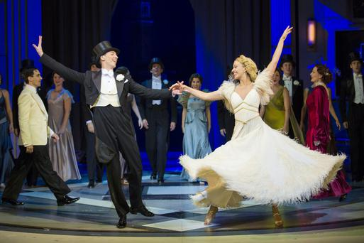 Featherweights: Alan Burkitt and Charlotte Gooch star in Top Hat