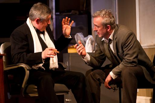 Revival: A scene from Tom Murphy's The Gigli Concert, which has opened at The Gate