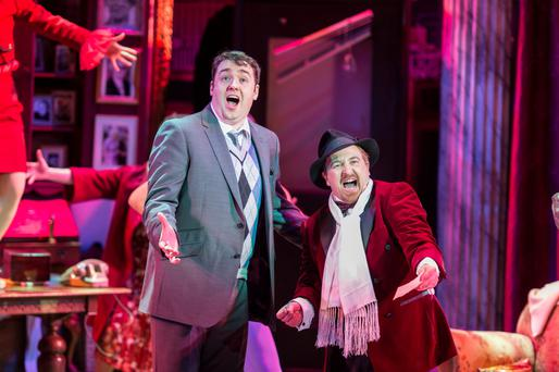 Wicked satire: Mel Brooks' World War 11 musical The Producers has been a critical hit