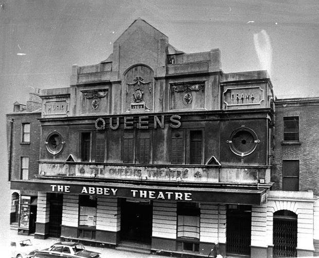 The old Abbey Theatre