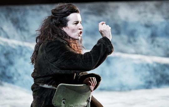 Chilling performance: Susan Lynch as Hester in The Bog of Cats.
