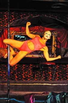 Vertical view: Kate McGrew brings her cabaret show Sweet Pang to the Tiger Dublin Fringe