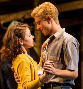 Strong performances: Lauren Coe and Joey Phillips in A View from the Bridge