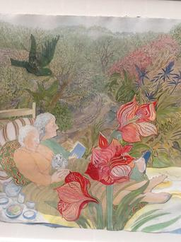 Old Friends, by Pauline Bewick