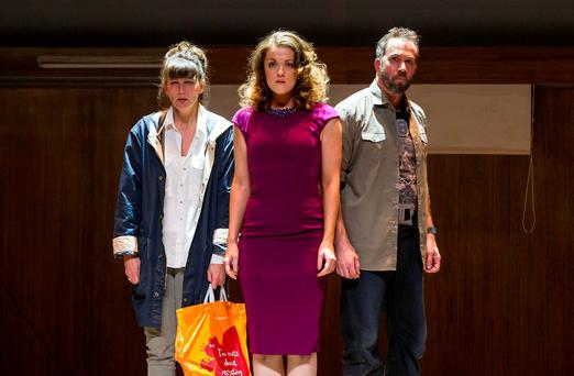 Katherine Manley, Claudia Boyle and Robin Adams in Landmark Productions and Wide Open Opera's 'The Last Hotel', which is a funny and moving clash of styles that hits a profound note