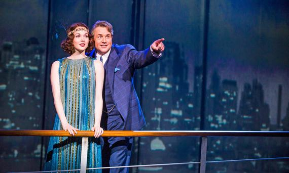 Love affair: Michael Ball takes the lead in Mack And Mabel which starts its run in Dublin on Tuesday.