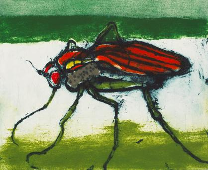 The loved unloved: Long-legged Fly by Hughie O'Donoghue, is his celebration of Yeats's poetry.