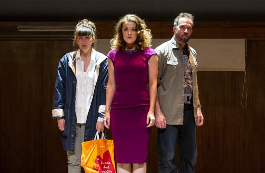 Intense: Katherine Manley, Claudia Boyle and Robin Adams in Walsh opera The Last Hotel