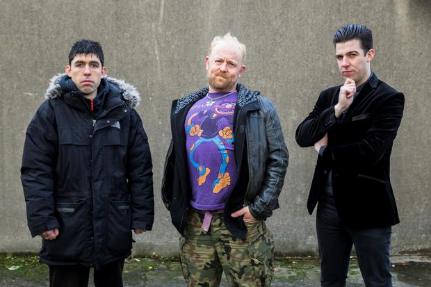 Resident Vikings: Rex Ryan, Neill Fleming and Edwin Mullane in Mark O'Rowe's Made in China