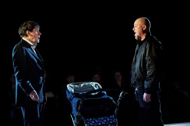 Extraordinary: Stephen Rea and Chris Corrigan in Cyprus Avenue at the Peacock.
