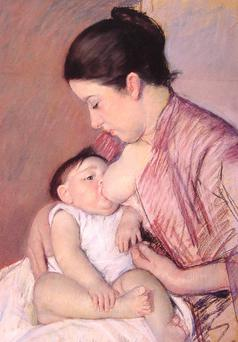 Maternite by Mary Cassatt.