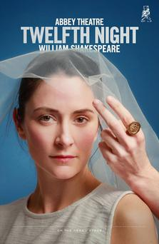 A promotional poster for the Abbey Theatre's production of Twelfth Night.