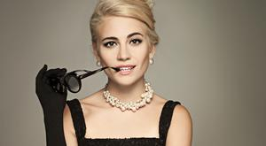 What about 'Breakfast at Tiffany's?': Pixie Lott takes to the stage as Holly Golightly in a new production of the iconic film Photo: Uli Webert.
