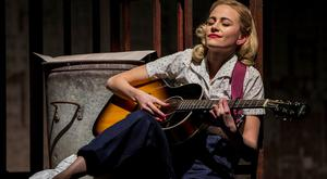 Pixie Lott in 'Breakfast at Tiffany's stage production.