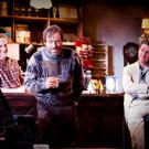 Pub talk: Brian Cox, Peter McDonald, Ardal O'Hanlon and Risteard Cooper in 'The Weir'