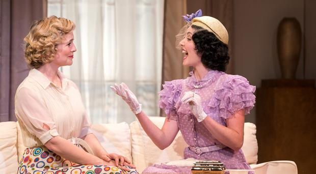Tara Egan Langley and Caoimhe O'Malley in The Constant Wife at the Gate. Photo: Pat Redmond.