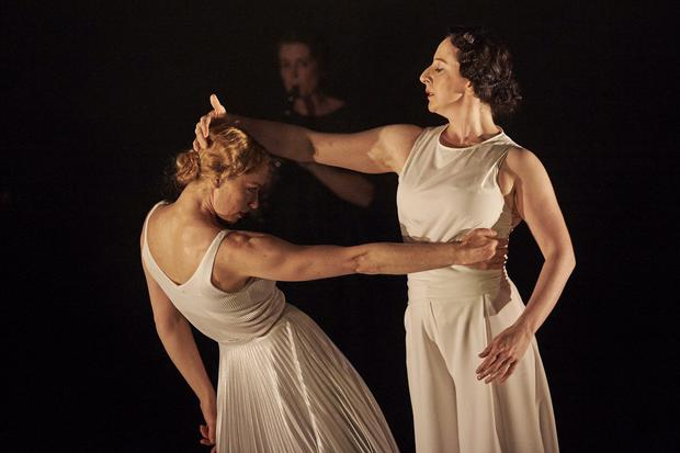 Justine Cooper and Emma O'Kane in 'Invitation to a Journey'.