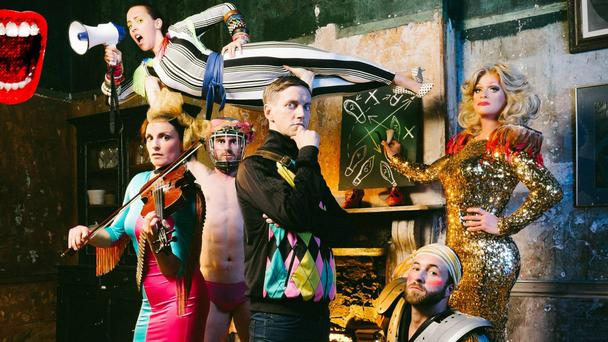 Tiger time: Riot by THISISPOPBABY, featuring Panti Bliss (right)
