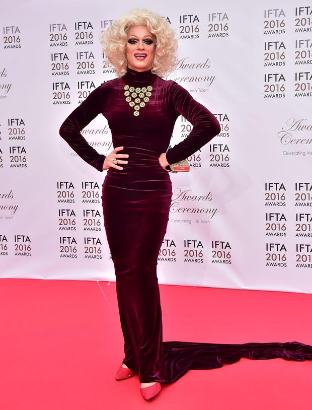 The dazzlingly talented Panti Bliss stars in the show 'Riot'