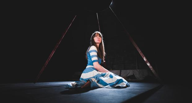 Curiouser and curiouser: Miriam Needham as Alice in Blue Raincoat's reinvention of the classic