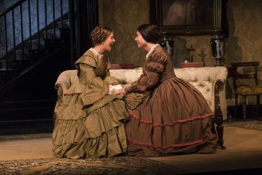 Tragicomedy: Mary Lou McCarthy and Karen McCartney in The Heiress at the Gate Theatre, directed by David Grindley