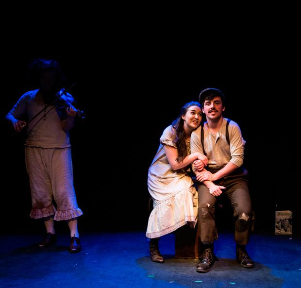 Madi O'Carroll and Gordon Quigley in 'Dubliners Women'