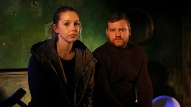 Stage pairing: real-life couple Seána Kerslake and Stephen Jones