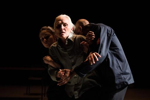 Judith Roddy, Olwen Fouéré and Emmanuel Obeya in Danse, Morob at the Project