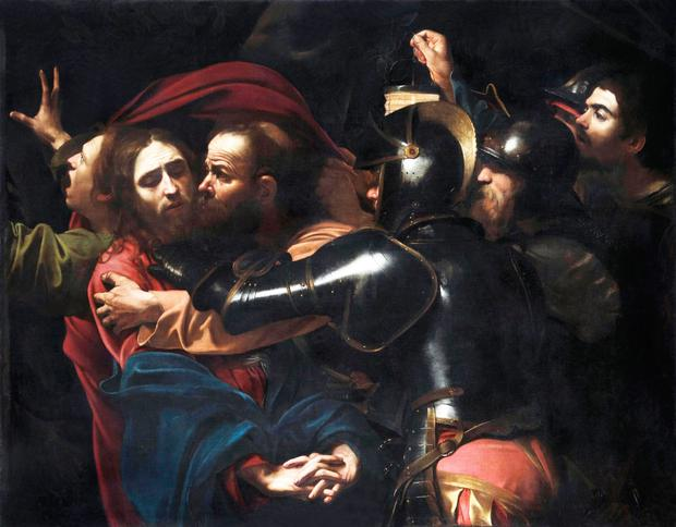The Taking of Christ, 1602, by Caravaggio