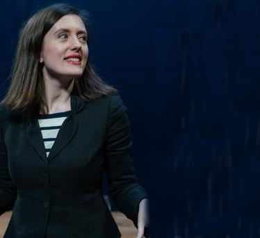 Realigned: Rebecca O'Mara in Private Lives at the Gate. Photo: Pat Redmond.