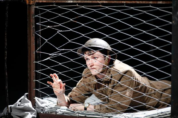 Shane O'Regan in 'Private Peaceful' by Michael Morpurgo which started its national tour at Pavilion Theatre, Dun Laoghaire, last week
